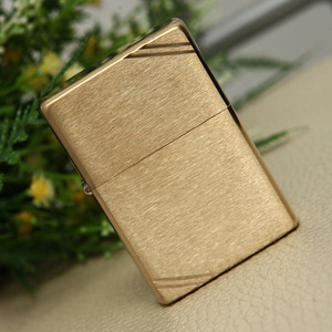 240 VINTAGE BR FIN BRASS ZIPPO 지포라이터