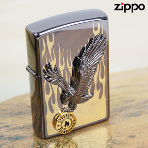 ZIPPO 정품 지포라이터 IN-TO-THE-FLAME- GD