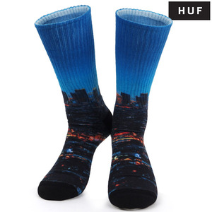 HUF 허프 양말 CITYCREW SOCK LOS ANGELES